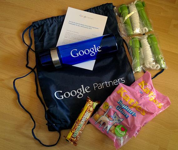 Google Partner Grand Prix 2014 Fitness-Paket