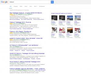 Neues Aussehen der Suchergebnisseite mit 4 Top-Anzeigen