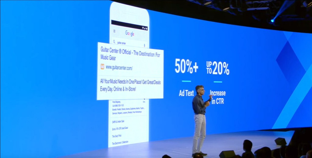 Expanded Text Anzeigen erzielen ca. 20% höhere CTR