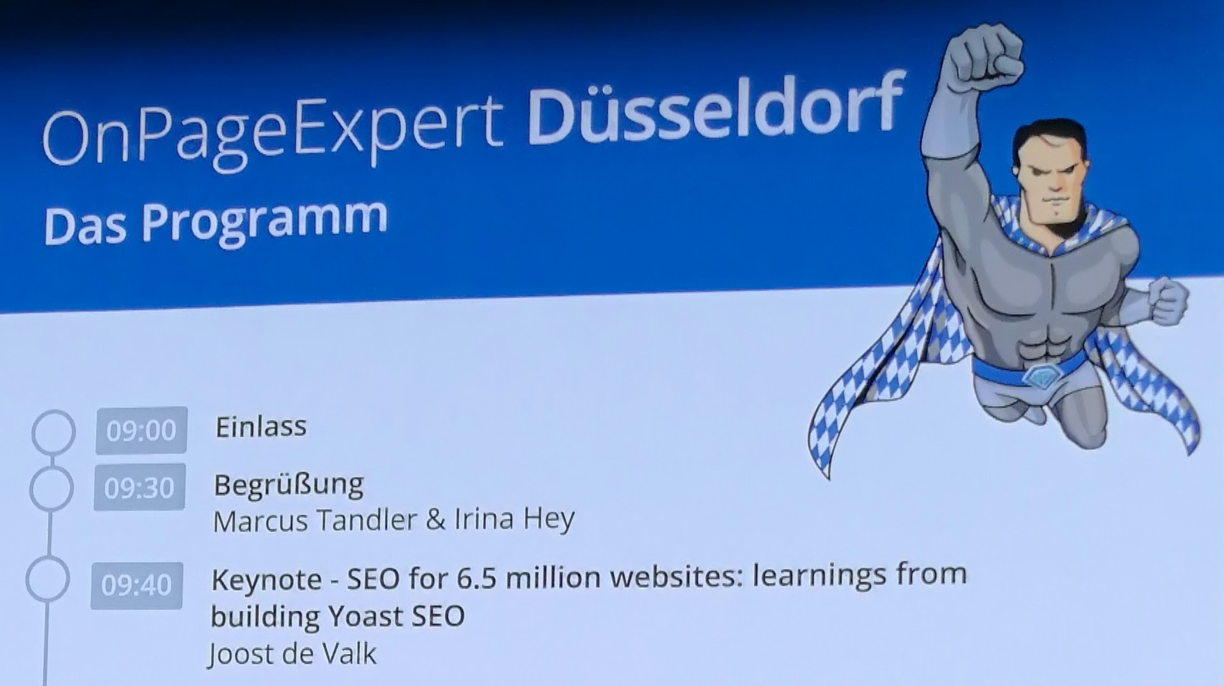 OnPage Expert Event in Düsseldorf