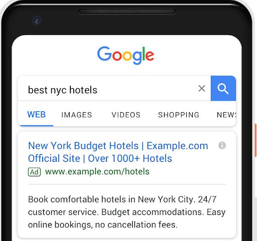 Google Ads: Dritte Überschrift und zweite Beschreibung in Textanzeigen