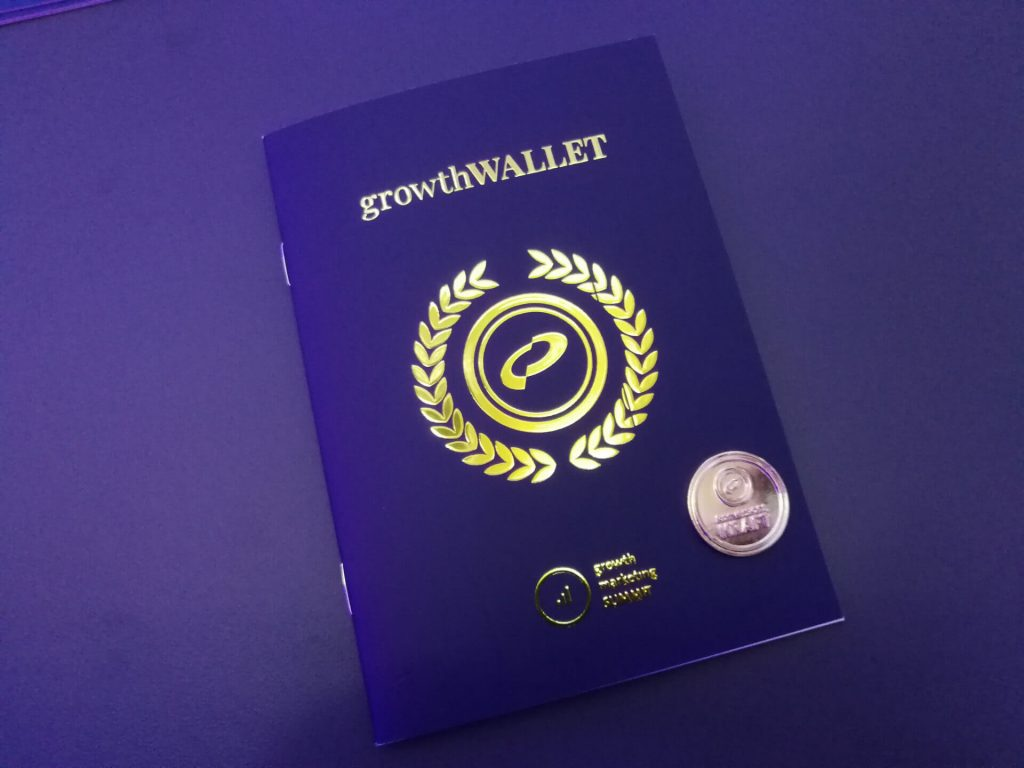 growthWALLET mit conversionCOIN