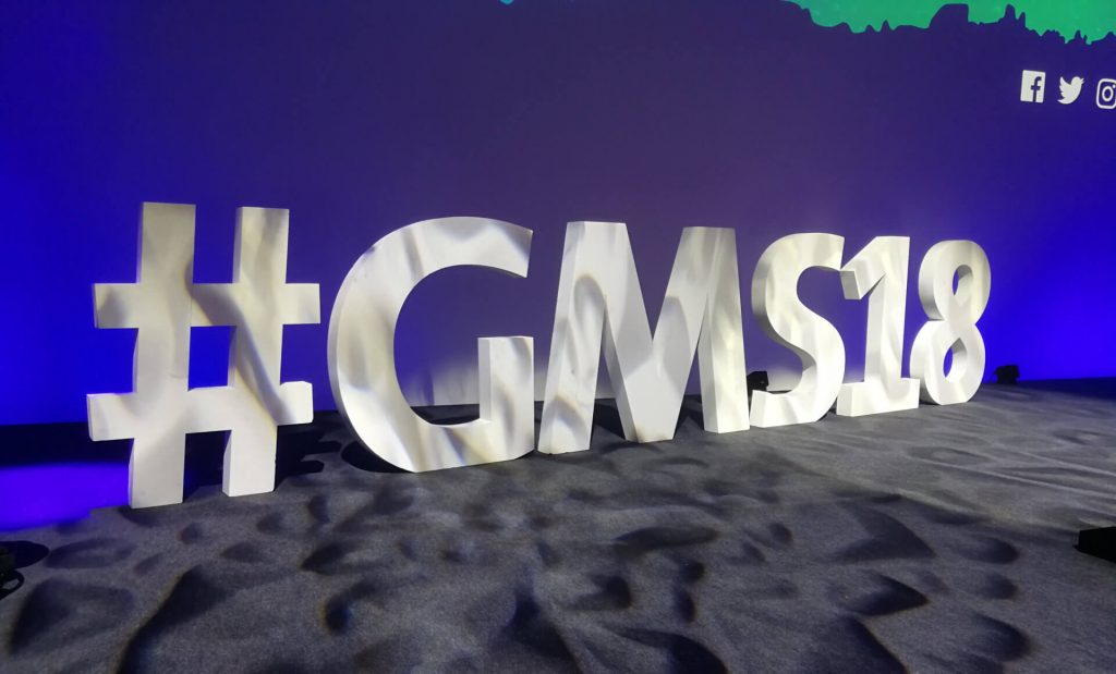 GMS18 Hashtag