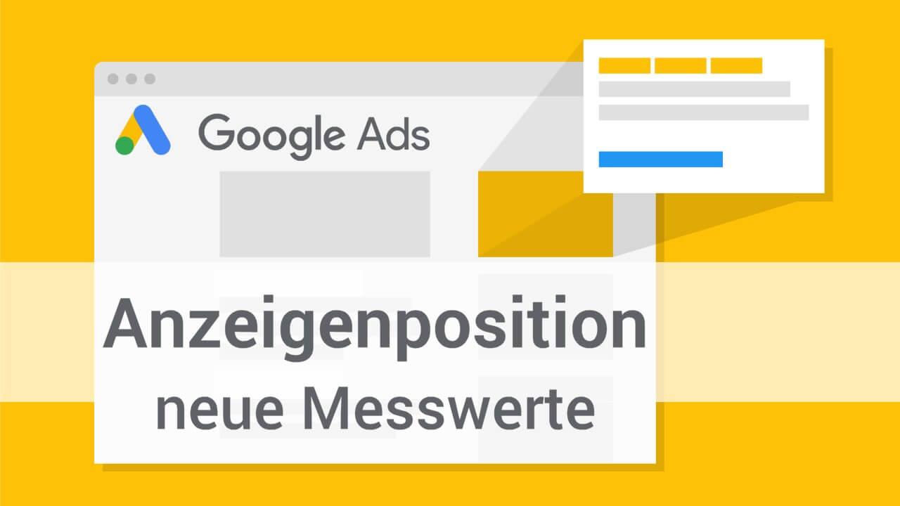 Google Ads Position KPIs