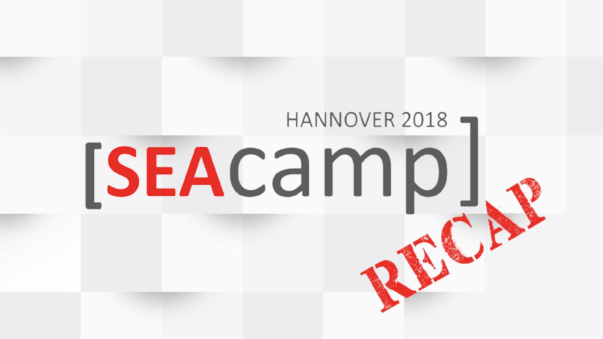 SEAcamp 2018 Hannover Recap