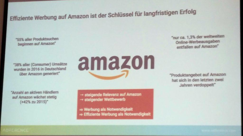 SEAcamp 2018 Hannover - Amazon-Vortrag