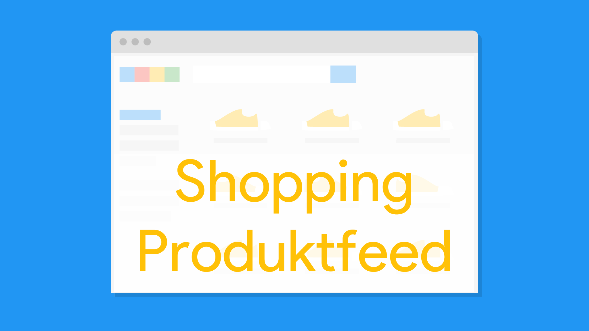 Google Shopping Produktfeed