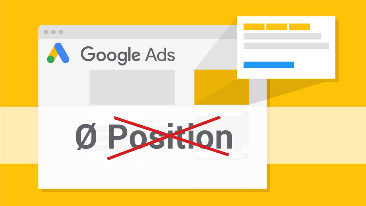 """Google Ads schafft """"Durchschnittliche Position"""" abaverage-position"""