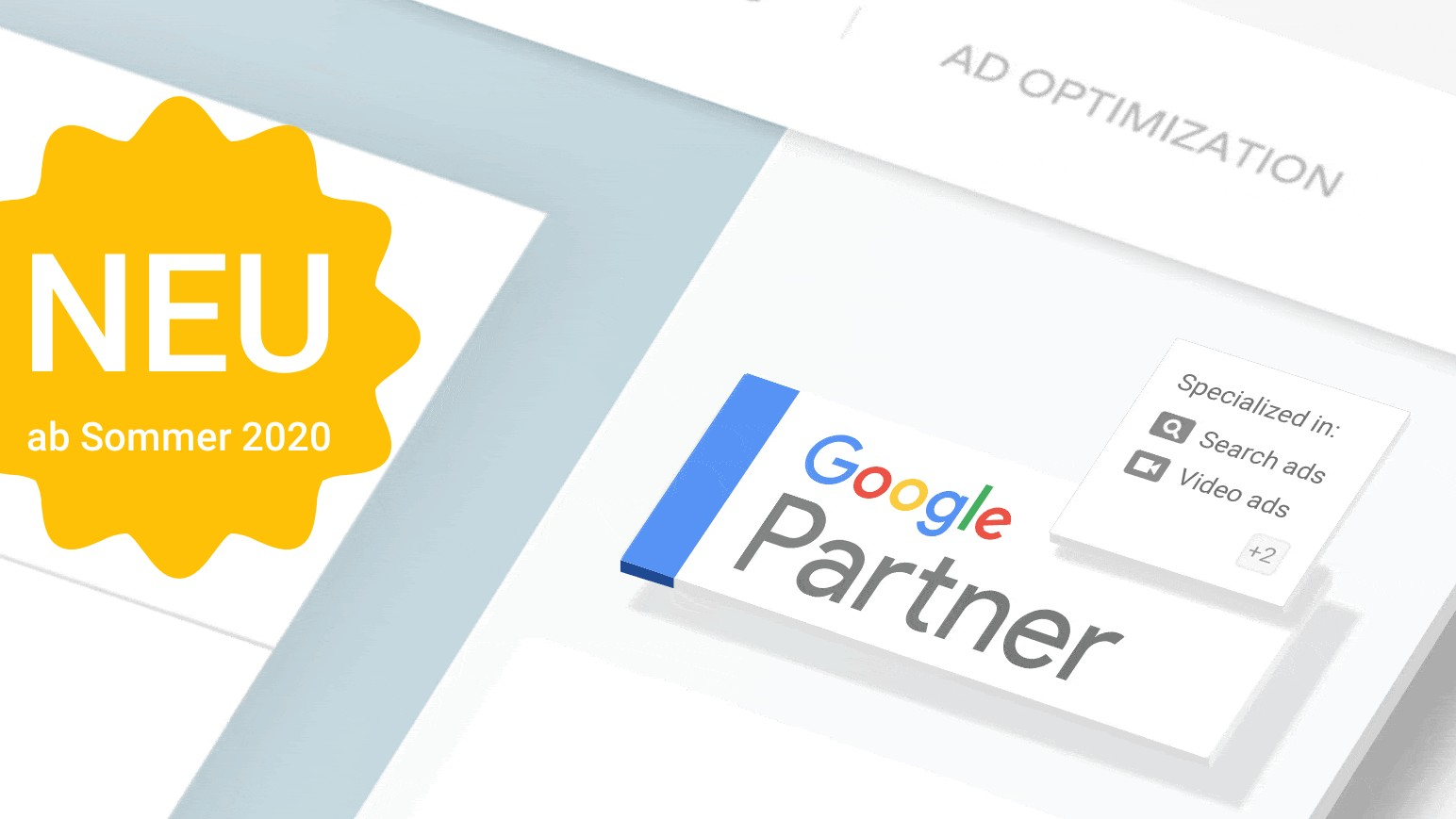 Google Partner Logo - Neuerungen ab Sommer 2020